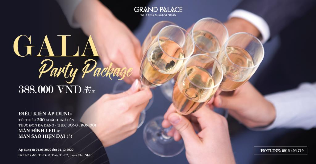 GALA PARTY PACKAGE