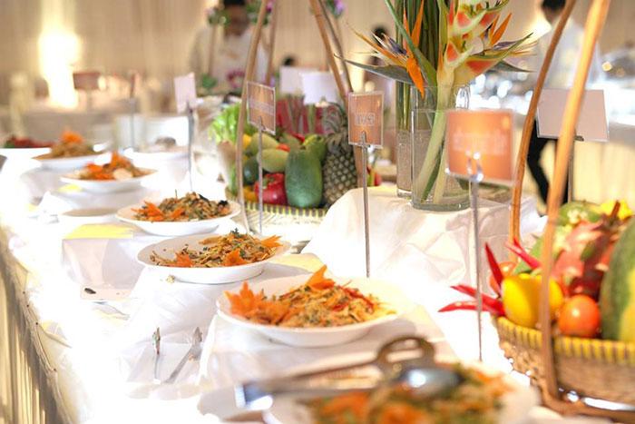 Bí quyết chọn thực đơn món chay cho tiệc cưới