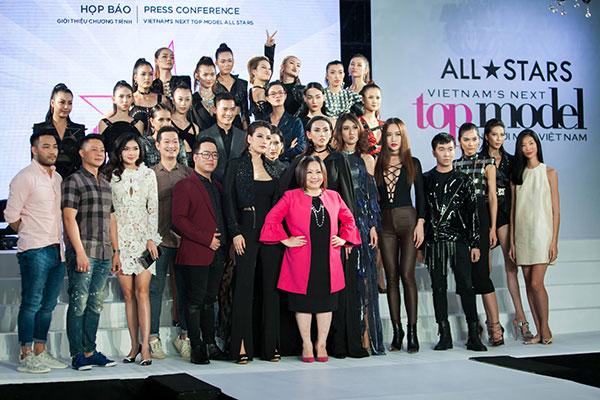 Chương trình Người mẫu Việt Nam phiên bản ALL STARS đến với Grand Palace.