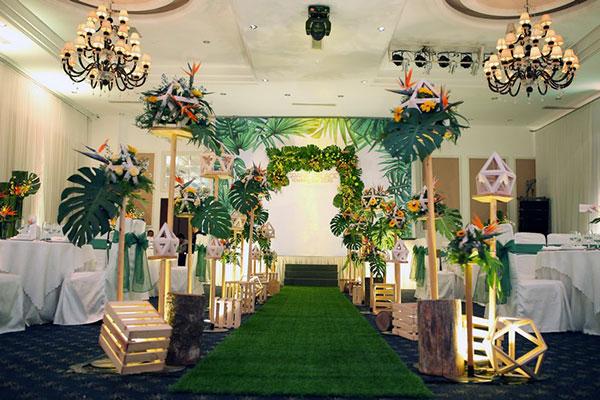 tiệc cưới theo chủ đề la flora